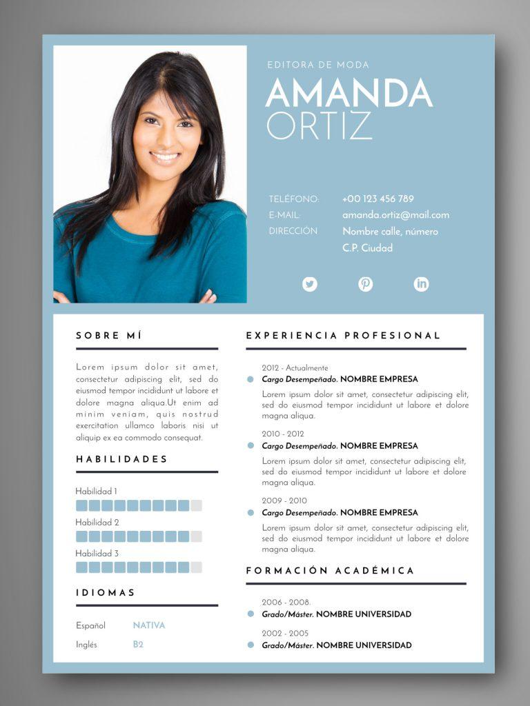 La importancia de un CV visual (II) | Empapelarte