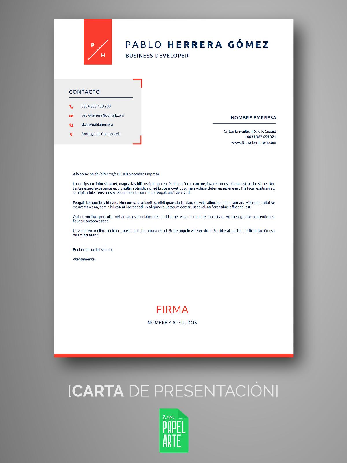 Currículum SANTIAGO | Empapelarte