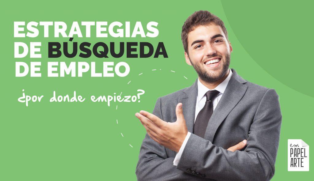 ESTRATEGIAS PARA BUSCAR EMPLEO