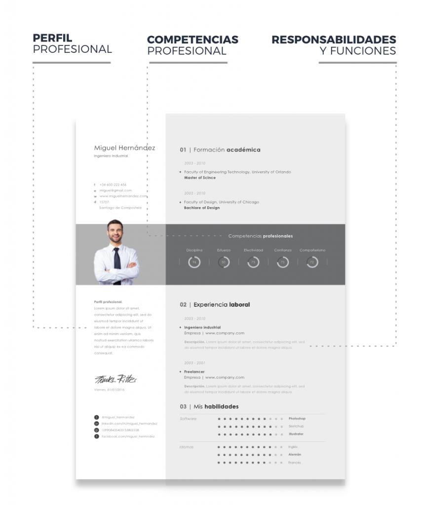Competencias Profesionales en el Currículum Profesional