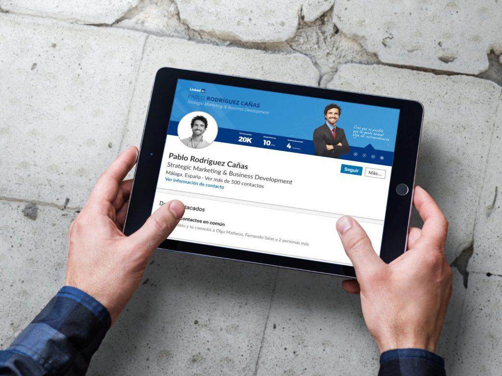 En Empapelarte te ayudamos a proyectar tu Marca Personal en Linkedin