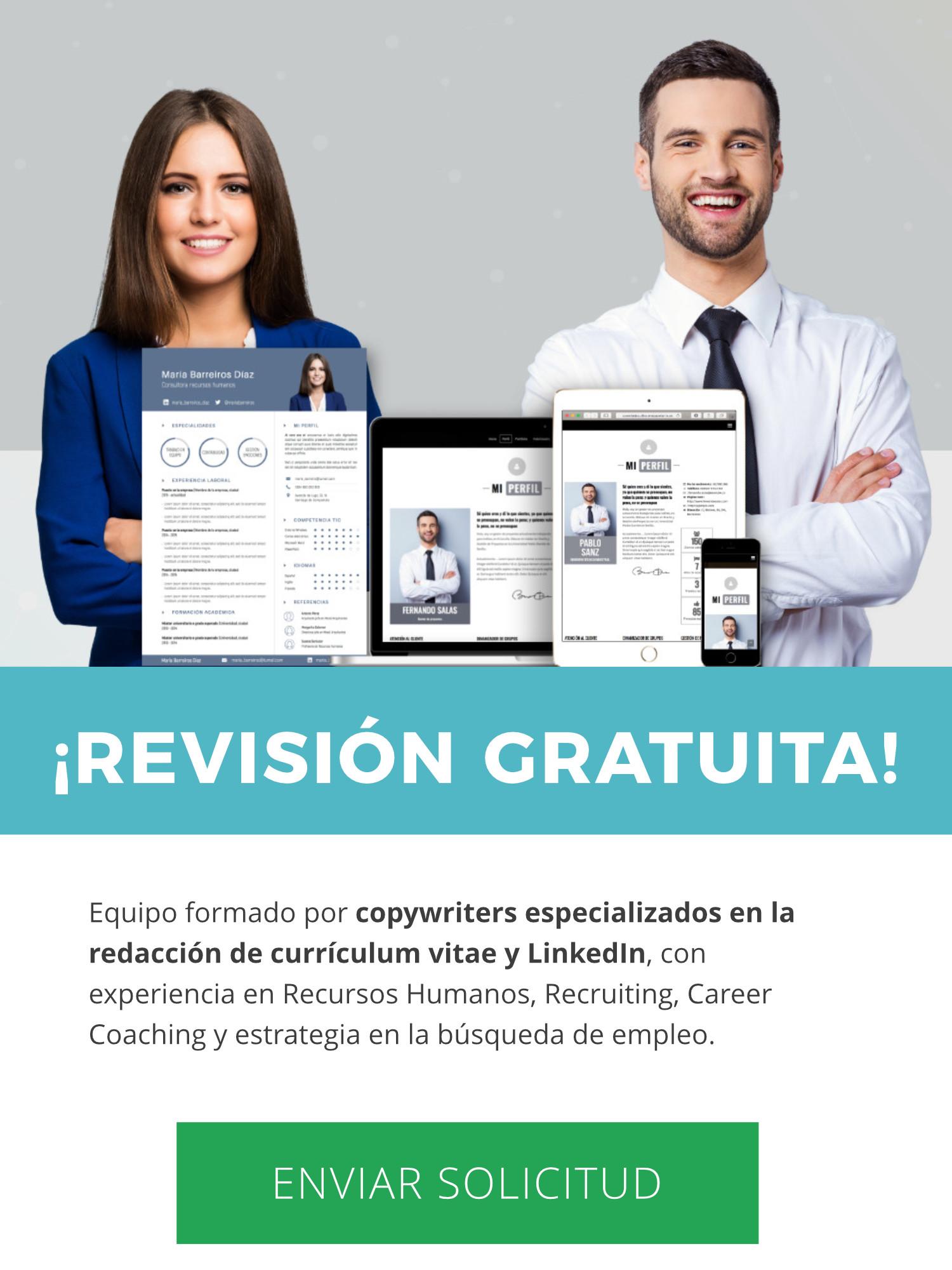 Revisión gratuita de Currículum