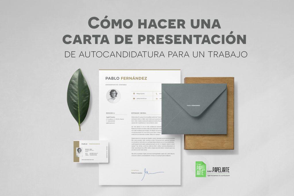 carta de presentacion de autocandidatura