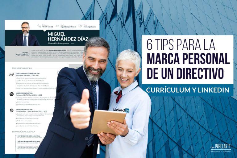 marca personal directivo curriculum linkedin