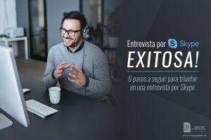 entrevista de trabajo por skype con exito