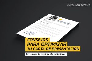 optimizar carta presentacion empapelarte