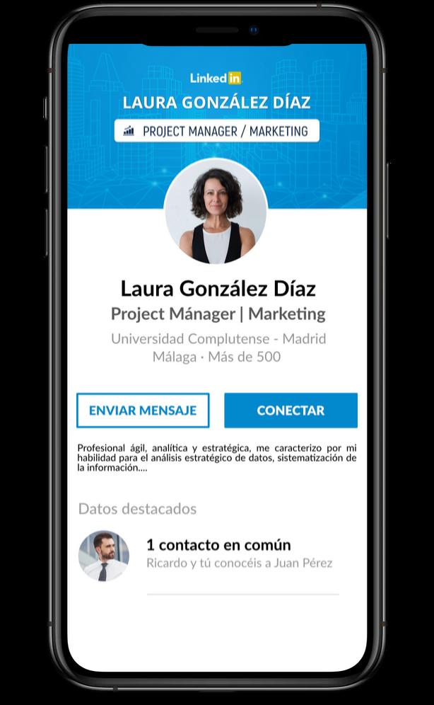 telefono movil linkedin optimizar