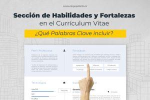 Seccion de Habilidades y Fortalezas en el Curriculum