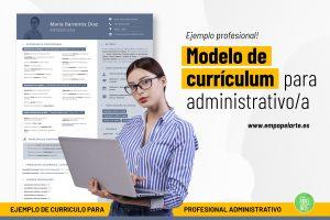 modelo de curriculum administrativo